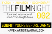 Haven for artists' THE FILM NIGHT 002