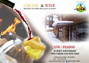Saturday Cheese & Wine at Natureland