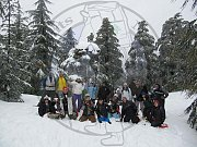 Snowshoeing in Laqlouq with The Footprints Nature Club