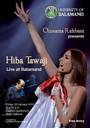 Hiba Tawaji in Concert at Balamand - Lebanon