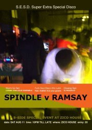 """B-Side presents """" Super Extra Special Disco"""" with DJ Spindle Vs Ramsay"""