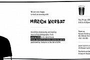 Mazen Kerbaj Book signing at Papercup
