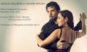 CECILIA PICCINNI & ANDRES MOLINA - Milonga Seminar & Performance