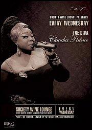 Claudia Patrice Live at Society Wine Lounge