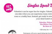 Singles Speed Dating Event