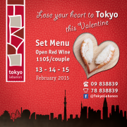 Valentine at Tokyo Lebanon