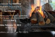 Valentine at La Chicane Bikfaya