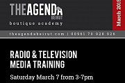 Training with Maguy Farah on Radio & TV Media