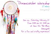 Dreamcatcher workshop with CherryPerry 2nd edition