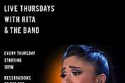 Live Thursdays with Rita Sleiman & the band!