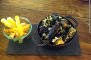 Moules et Frites at Cafe Diem