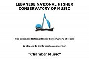 Chamber Music Concert with the Lebanese National Higher Conservatory of Music
