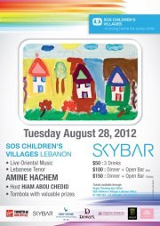 SOS Children's Villages Fundraiser event at Skybar