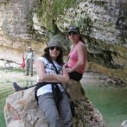 Hiking in 'Assia' with Dale Corazon