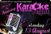 KARAOKE, BE THE STAR, NIGHT