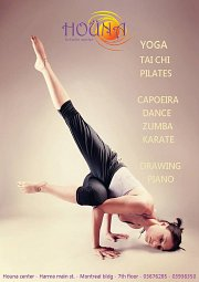 Sunday Morning Yoga at Houna