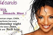 Cinda Live at the beach bar