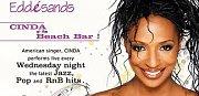 Cinda Live at the beach bar