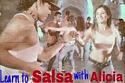 Salsa classes with Alicia
