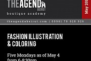Fashion Illustration and Coloring a workshop by Hussein Bazaza