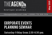 Corporate Events Planning Seminar by Maria Boustany