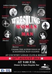 Wrestling Show - Women vs Men!
