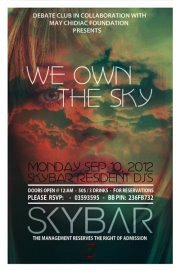 """""""WE OWN THE SKY"""" - Fundraising event for """"MCFMI"""" association"""