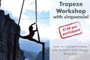Trapeze Workshop with cirquenciel