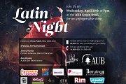2015 Annual AUB Latin Night