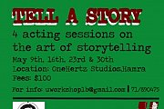 Tell Your Story - Acting Workshop