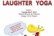 Laughter Yoga Class by Nadine Abou Ismail