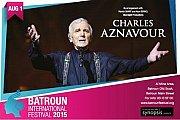 Charles Aznavour in Concert in Lebanon - Part of Batroun International Festival 2015