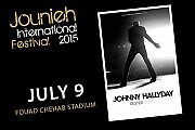 Johnny Hallyday Concert in Lebanon - Part of Jounieh International Festival 2015