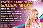Exotic Caribbean SALSA night