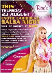 Exotic Caribbean SALSA night