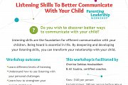 LIstening Skills to Better Communicate With Your Child