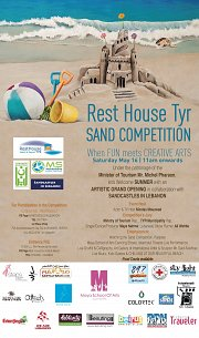 RestHouse Tyr Sand Competition (Summer Season Grand Opening)