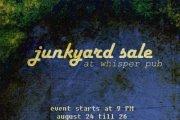 Junkyard sale - Whisper Pub -