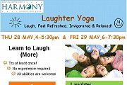 Laughter Yoga at Harmony