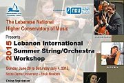 Lebanon Summer String and Orchestra Workshop