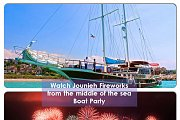 Jounieh Fireworks Show Boat Party 2015