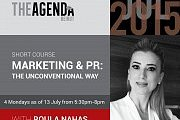 Marketing & PR: The Unconventional Way with Roula Nahas at The Agenda
