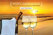 Sunset Happy Wine Hour in Byblos Sur Mer