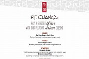 P. F. CHANG's Iftar