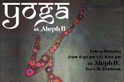 Yoga at Aleph B°