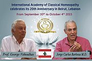 International Academy of Classical Homeopathy - 20th Anniversary in Beirut, Lebanon