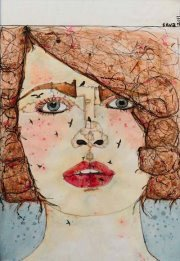 """Rêve-évolution"" by Rania Moudaress Silva - Art Exhibition"