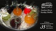 River garden Sunday buffet @ Massabki Hotel