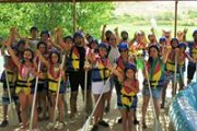 Rafting in Assi River with Dale Corazon