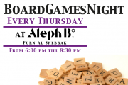 Board Games Night at Aleph B°